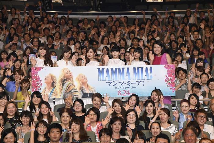 リトグリ4000人と大合唱!『マンマ・ミーア!ヒア・ウィー・ゴー』ジャパンプレミア!