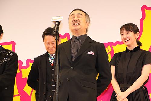 音量を上げろタコ完成披露_松尾スズキ