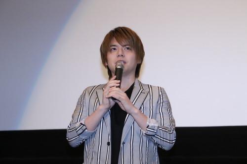 内田雄馬 劇場アニメ『君の膵臓をたべたい』初日舞台挨拶