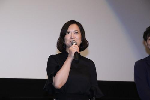 和久井映見 劇場アニメ『君の膵臓をたべたい』初日舞台挨拶