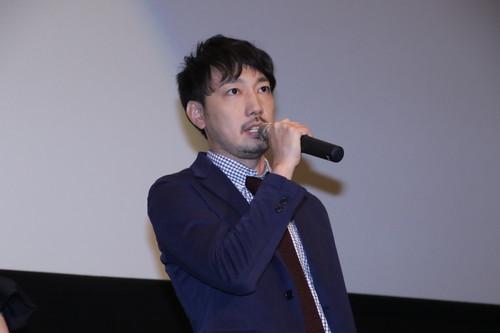 牛嶋新一郎監督 劇場アニメ『君の膵臓をたべたい』初日舞台挨拶