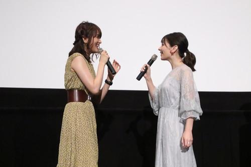 Lynn、藤井ゆきよ 劇場アニメ『君の膵臓をたべたい』初日舞台挨拶