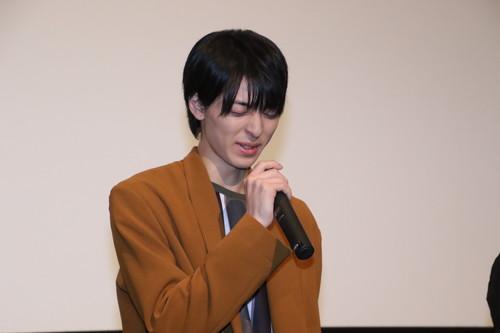 高杉真宙 劇場アニメ『君の膵臓をたべたい』初日舞台挨拶
