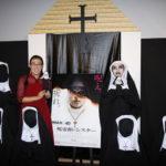 たんぽぽ白鳥が川村の生ドッキリに悲鳴『死霊館のシスター』試写会
