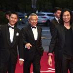 國村隼、青木崇高ら釜山国際映画祭レッドカーペットに登場!『かぞくいろ―RAILWAYS わたしたちの出発―』