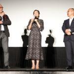 千眼美子と今掛勇監督ら登壇『宇宙の法―黎明編―』初日舞台挨拶