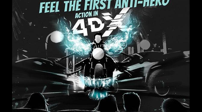 4DX映画史上、最も破壊力満載!!『ヴェノム』の無人4DX360°VR動画が公開!