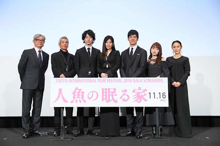 篠原涼子:最後まで、思いっきり泣いて!「人魚の眠る家」第31回東京国際映画祭 完成披露舞台挨拶