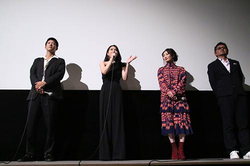 知英、武田梨奈、駿河太郎、宮野ケイジ監督『殺る女』