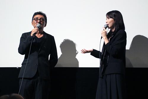 知英、宮野ケイジ監督『殺る女』完成披露