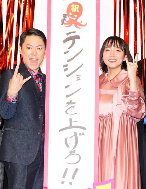 阿部サダヲ、吉岡里帆『音量を上げろタコ!』公開記念舞台挨拶
