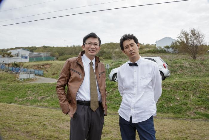 大泉洋 x 鈴井貴之 オフショット到着!映画『そらのレストラン』暖かい予告編到着!