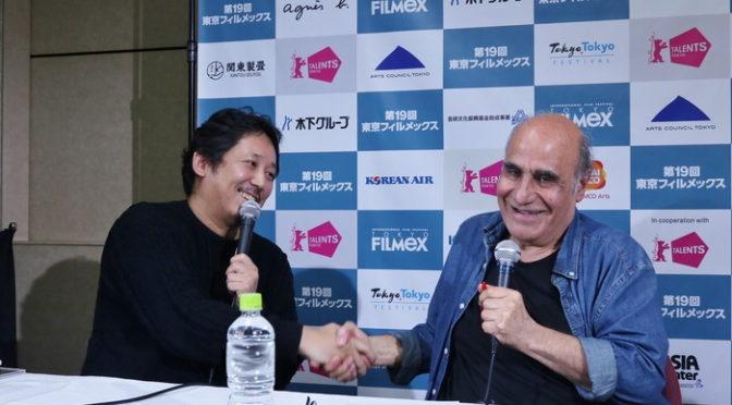 イランの巨匠アミール・ナデリ監督×入江悠監督『ギャングース』スペシャル対談