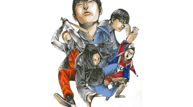 『ギャングース』原作・肥谷圭介先生から 映画キャスト版描き下ろしイラストが到着!