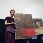 『バルバラ~セーヌの黒いバラ~』公開記念!シャンソン歌手クミコ熱唱!ミニライブ&トーク