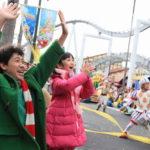 """大泉洋・横溝菜帆 感激!スペシャル・""""グリンチマス""""・パーティat USJイベント"""