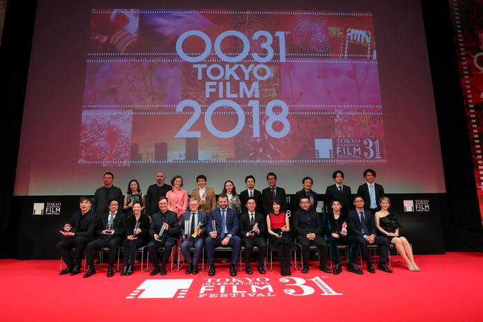 第31回東京国際映画祭の東京グランプリ他各賞の授賞式が行われました!