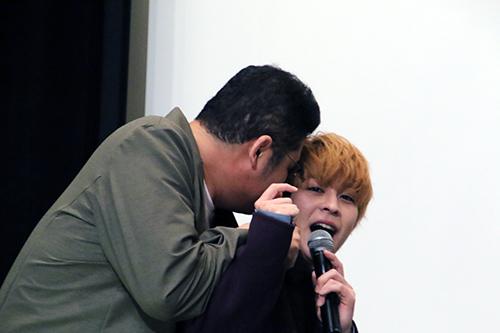 西銘駿 阿見201 古澤健監督『走れ!T校バスケット部』初日