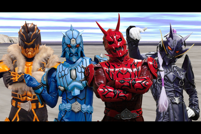 「大相撲展」東京 Oh!SUMO EXHIBITIONに仮面ライダー電王のキンタロス、モモタロス、ウラタロス、リュウタロス登場決定!