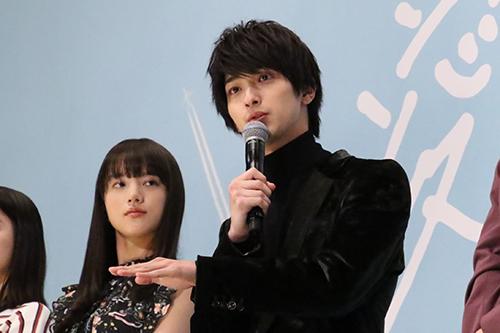 横浜流星『愛唄 ー約束のナクヒトー』完成披露舞台挨拶