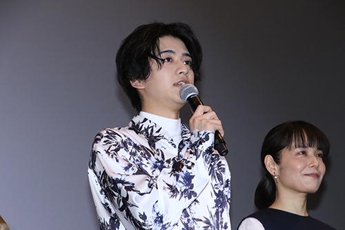 『愛唄-ー約束のナクヒトー』親子試写会 飯島寛騎