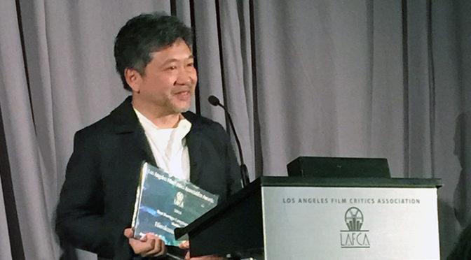 『万引き家族』33年ぶりの快挙!! LA映画批評家協会賞 外国語映画賞受賞!