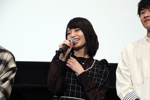 ほのか『愛唄 -約束ナクヒト-』公開記念舞台挨拶