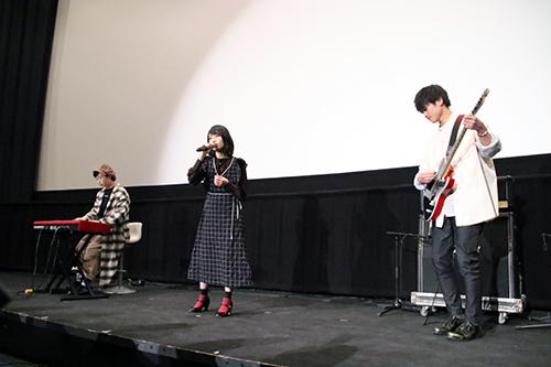 No Title(あんべ、ほのか、ポチ)『愛唄 -約束ナクヒト-』公開記念舞台挨拶