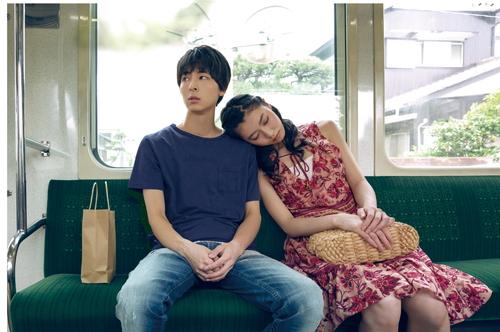 高杉真宙、安田聖愛 映画『笑顔の向こうに』東京・公開記念舞台挨拶