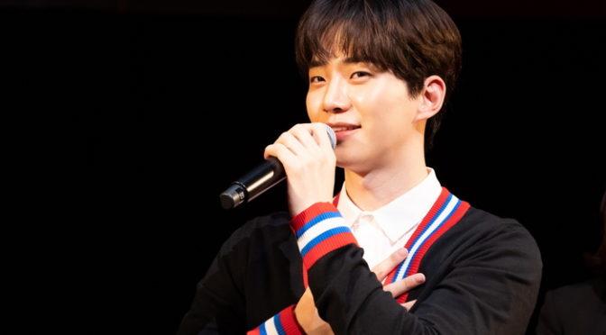 ジュノ(2PM)日本映画初主演『薔薇とチューリップ』プレミアム上映会&トーク