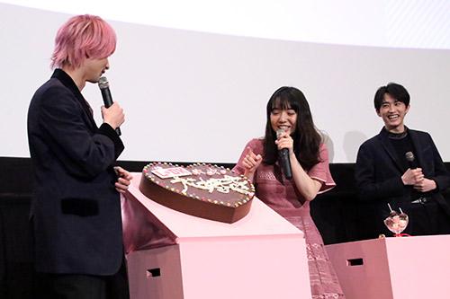 上白石萌音、杉野遥亮、横浜流星『L・DK』完成披露