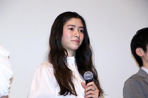 新音 映画『まく子』完成披露