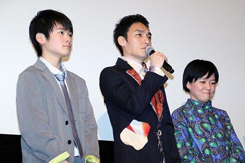 草彅剛 映画『まく子』完成披露