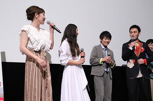 山﨑光、新音、草彅剛、須藤理彩 映画『まく子』完成披露