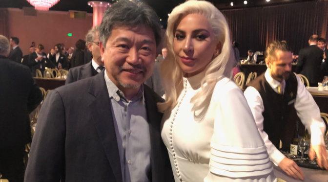アカデミー賞ノミニー昼食会に『万引き家族』是枝裕和監督が参加 レディ・ガガから祝福も!