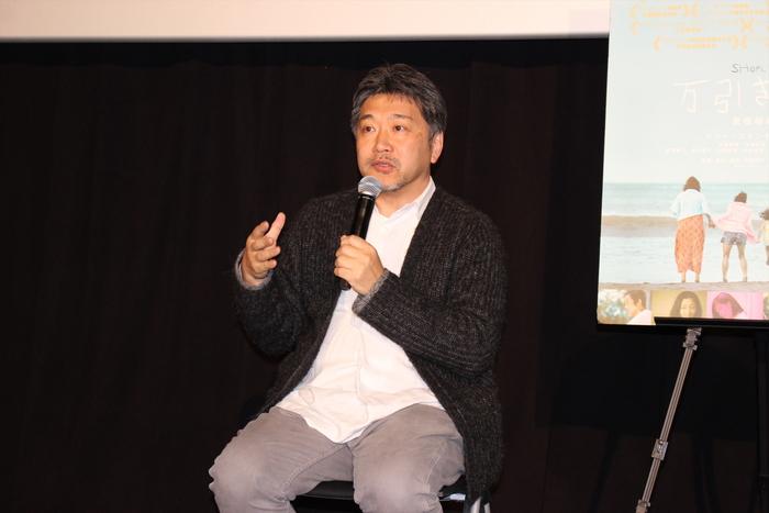 アカデミー賞直前、是枝裕和監督が登壇!『万引き家族』ティーチイン