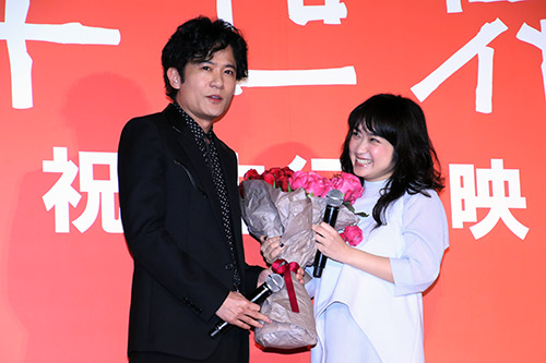 稲垣吾郎、池脇千鶴、バラ『半世界』
