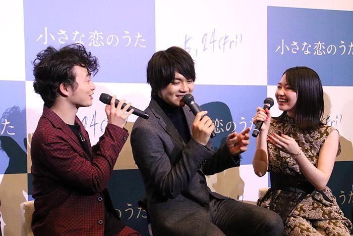 佐野勇斗 半年のバンド練習でメンバーの絆深まった「小さな恋のうた」完成報告記者会見