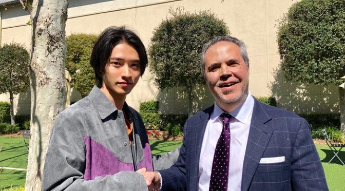 映画『キングダム』北米公開に向け、山﨑賢人がソニー・ピクチャーズ本社を訪問!