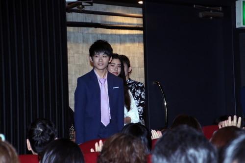 山﨑光、新音、草彅剛、須藤理彩、鶴岡慧子監督『まく子』公開記念舞台挨拶