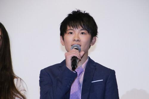 山﨑光『まく子』公開記念舞台挨拶