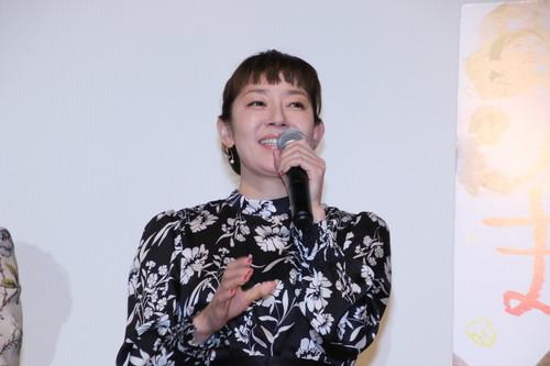 須藤理彩『まく子』公開記念舞台挨拶