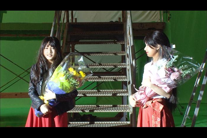土屋太鳳と芳根京子の撮影裏側 『累‐かさね‐』