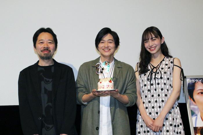 下野紘・井桁弘恵 舞台挨拶はハプニングとサプライズ!映画「クロノス・ジョウンターの伝説」公開記念
