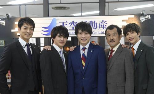 『おっさんずラブ』田中圭、林遣都、志尊淳、沢村一樹、吉田鋼太郎