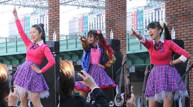 DROP DOLL 新宿で迫力のライブパフォーマンス『JK☆ROCK』公開直前イベント