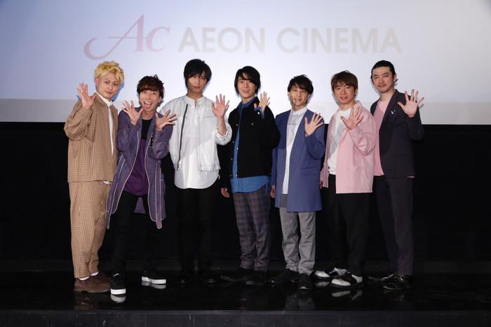 A.B.C-Z 祝・劇場公開に感無量!! 『ぼくらのショウタイム』劇場公開記念舞台挨拶!