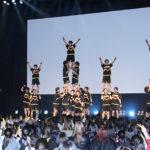 早稲田SHOCKERSがオープニングアクト横浜流星・中尾暢樹ら登壇映画『チア男子!!』完成披露