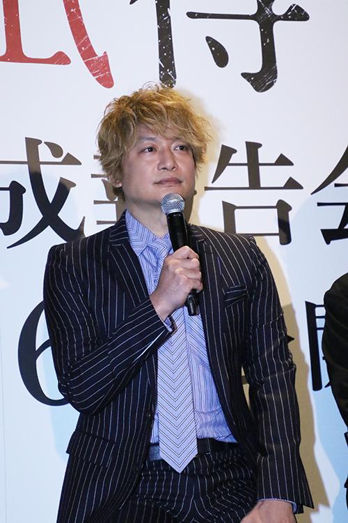 香取慎吾『凪待ち』完成披露記者会見