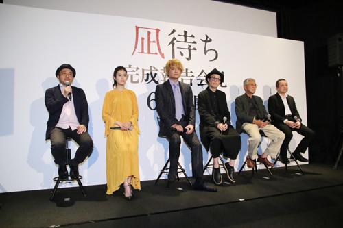 白石和彌監督『凪待ち』完成披露記者会見